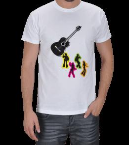 saratu60 - gitar eşliğinde dans Erkek Tişört