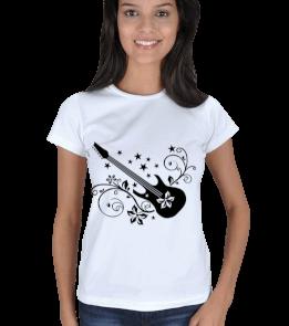 MyTshirt - Gitar T-Shirt Kadın Tişört
