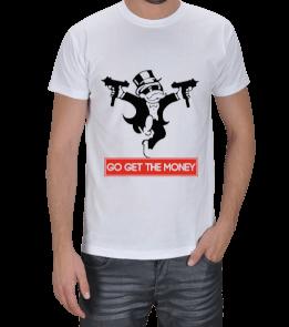Aperture Tee - Go get the money Erkek Tişört