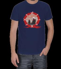 Turuncu Oda Tasarım - God of War Baskılı Erkek Tişört