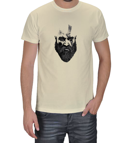 Turuncu Oda Tasarım - God of War |Kratos Baskılı Erkek Tişört