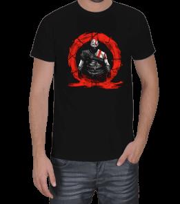 Turuncu Oda Tasarım - God of War | Kratos Baskılı Erkek Tişört