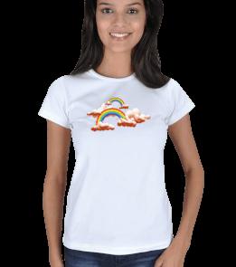 41kare - gökkuşağı Kadın Tişört