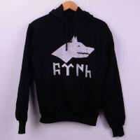 - Göktürk Tasarımlı Kadın Sweatshirt - XS Beden, Siyah