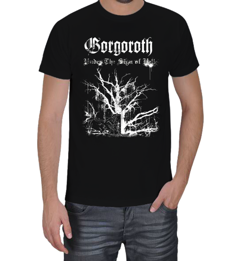 metalkafa1500 - Gorgoroth Erkek Tişört