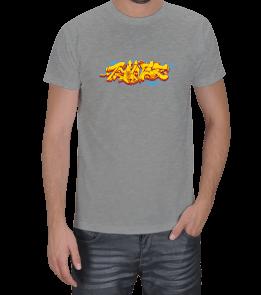 Özgür Klavye - Graffiti Erkek Tişört