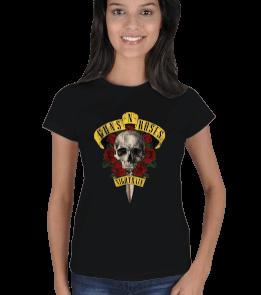 Chimonto Artz - Guns N Roses Kadın Tişört