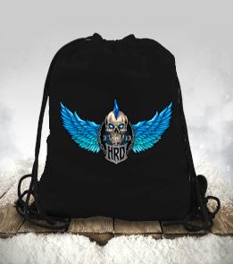 Teknobiyonik Tasarım - Hard Rock Kurukafa Çanta Büzgülü spor çanta