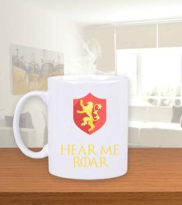 Deep - Hear Me Roar Beyaz Kupa Bardak