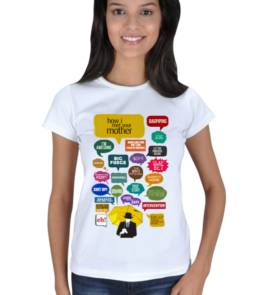 4Snatch T-Shirt - HIMYM Kadın Tişört