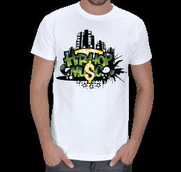 Alo Tasarım - hip-hop music Erkek Tişört