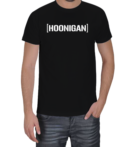 Dört Bijon - Hoonigan Logolu Erkek Tişört