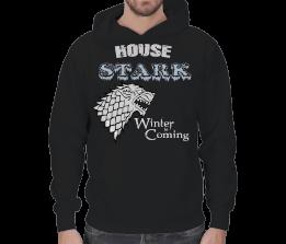 AydınShop - House Stark Erkek Kapşonlu