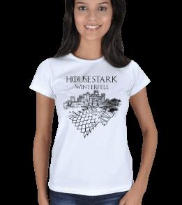 SIRIUS - House Stark Kadın Tişört