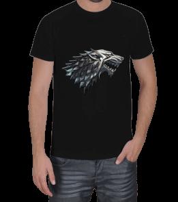 League of T-Shirts - House Stark T-Shirt Erkek Tişört