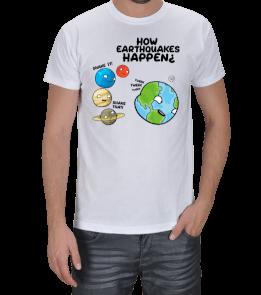 OTdesign - How Eathquakes Happen Erkek Tişört