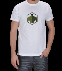 Geek-Shirt - Hulk Altıgen Erkek Tişört