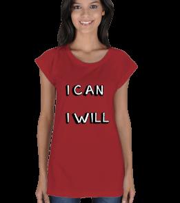 Asianfireflies Shop - I CAN I WILL Kadın Tunik