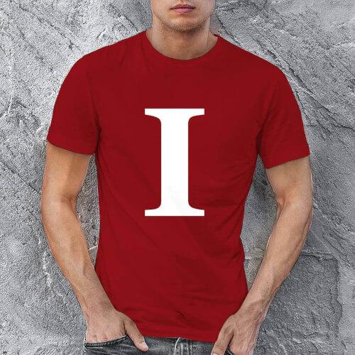 I Love U Erkek Tişört - Tekli Kombin