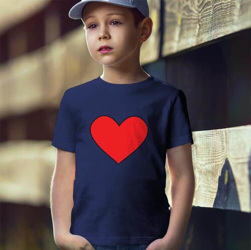 Tisho - I Love U Erkek Çocuk Tişört - Tekli Kombin