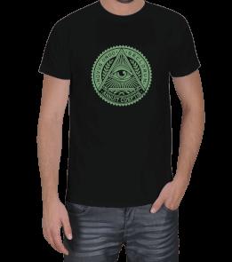 X SHIRT - Illuminati Green Erkek Tişört