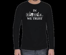ATT - In Science We Trust Erkek Uzun Kol