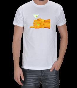 Geek-Shirt - Infinity Gauntlet Erkek Tişört