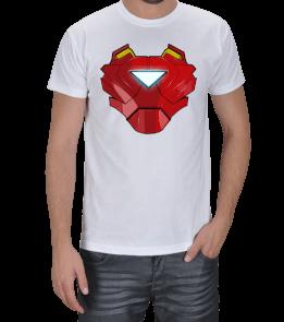 Geek-Shirt - Iron Man Göğüs Zırhlı Erkek Tişört