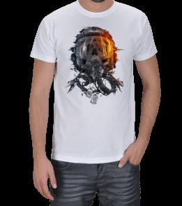 Solo Air Shop - İskelet Pilot Erkek Tişört