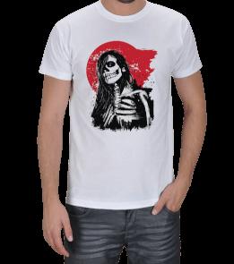Geometri Adam - Geometry Man - Japon Kız Erkek Tişört