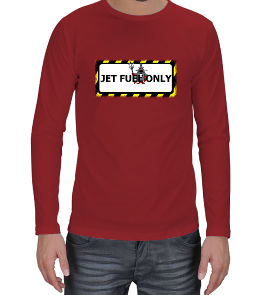 Aviation - Jet Fuel Only Erkek Uzun Kol