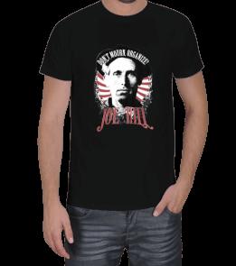 Turuncu Oda Tasarım - Joe Hill Baskılı Erkek Tişört