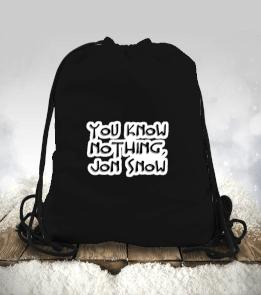EG Store - Jon Snow Büzgülü spor çanta