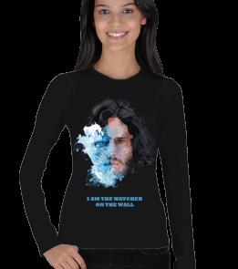 Tasarım Atölyesi - Jon Snow The Watcher -K Kadın Uzun Kol