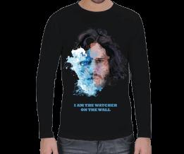 Tasarım Atölyesi - Jon Snow The Watcher -Uzun Erkek Uzun Kol