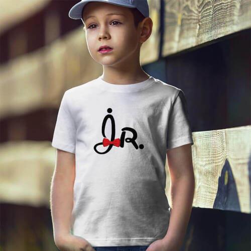 Tisho - Jr. Erkek Çocuk Kısa Kol Tişört - Tekli Kombin