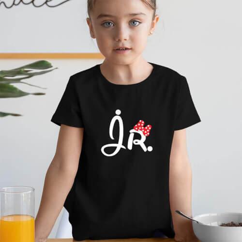 Tisho - Jr. Kız Çocuk Kısa Kol Tişört - Tekli Kombin