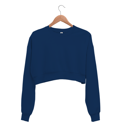 Kadın Crop Sweatshirt