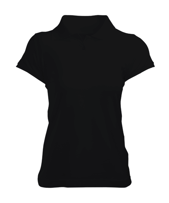 Kadın Polo Yaka Tişört - Thumbnail