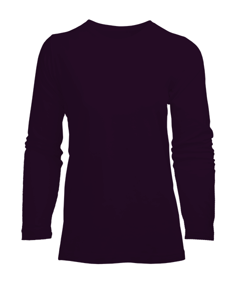 Kadın Uzun Kol Tişört - Thumbnail