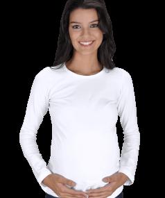 Tisho - Kadın Uzun Kollu Hamile Tişört