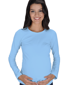 Kadın Uzun Kollu Hamile Tişört