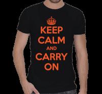 turkuaz - Keep Calm Erkek Spor Kesim