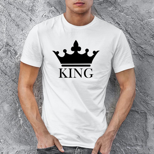 King Erkek Tişört - Tekli Kombin - Thumbnail