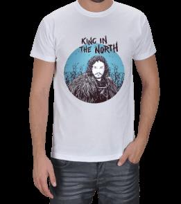 Fanart - King in the North Erkek Tişört
