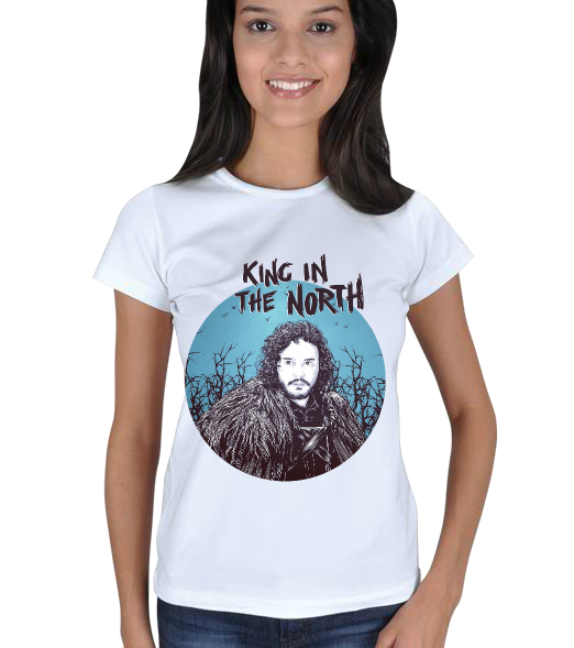 Fanart - King in the North Kadın Tişört