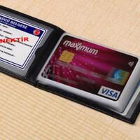 Kişiye Özel Deri Kredi Kartlık
