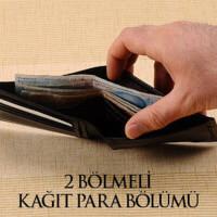Kişiye Özel Erkek Deri Cüzdan ve Kredi Kartlık Seti - Thumbnail