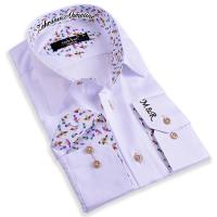 Kişiye Özel İsim Yazılı Nakış İşlemeli Erkek Gömlek - Thumbnail