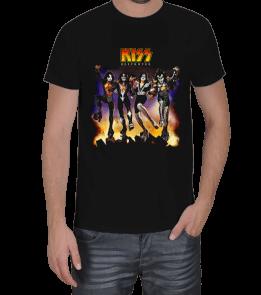 metalkafa1500 3 - Kiss Erkek Tişört